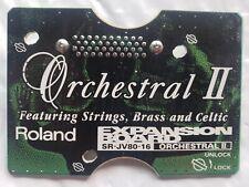 Roland SR JV-80-16 - Orchestral II Expansion Board - Orchestral 2