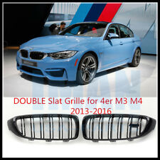 Gloss Black Front Kidney Grill Grille For BMW F32 420i 428i 435i M3 M4 2013-2016