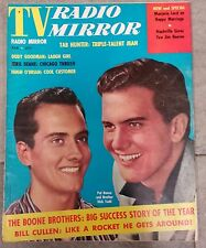 TV RADIO MIRROR FEBRUARY 1958 BOONE BROTHERS DODY GOODMAN HAPPY MARRIAGE