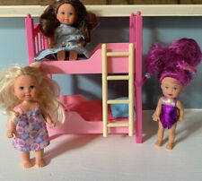 Simba Evi Love Doll Bunk Bed And 3 Dolls