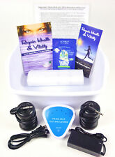 DETOX CHI FOOT SPA DETOX MACHINE - FREE Foot Basin & Extras. 1 YEAR WARRANTY!