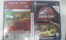 Jurassic Park Operation Genesis PS2 Game PAL
