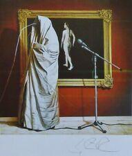 "SIEGFRIED ZADEMACK ""Communication I""HAND SIGNED 1985 LITHOGRAPH German artist"