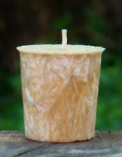 8pk COCONUT BUTTERSCOTCH Triple Scented 160hr/pk VOTIVE CANDLES Kitchen Aromas