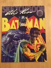 SIGNED - Alex Ross SDCC 2014 Sketchbook Batman Exclusive Cover Softcover Limited