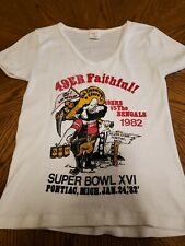 Vtg1982  San Francisco 49ers  Super Bowl  Champion tshirt size small M