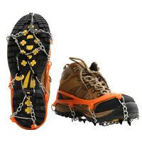 Steigeisen Gleitschutz Schuhspikes Wandern Bergsteigen Schneekrallen Eiskrallen