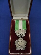 French Medal of Honour for Departments and Communes Silver 25 years Service