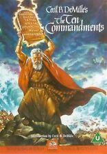 The Ten Commandments Charlton Heston, Yul Brynner, Anne Baxter NEW UK R2 DVD