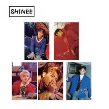 Kpop SHINEE Clear Photo Card PVC Frosted Lomo Cards Taemin Key Photocard 5pcs