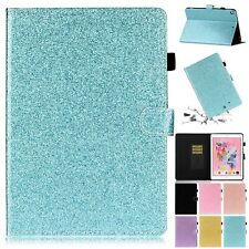 For iPad 10.2 Inch 7th Gen Glitter Bling Leather Card Slot Case Stand Flip Cover