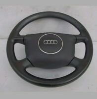 AUDI A3 A4 A2 A6 B6 LEATHER SPORT STEERING WHEEL 4 SPOKE 8E0000124 8E0419091