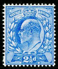 Sg230, 2½d ultramarine, LH MINT. Cat £20.