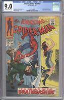 Amazing Spider-Man #59 CGC 9.0 (Marvel 1968) 1st Mary Jane Watson Cover - Romita
