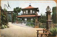 Oakland, CA 1909 Postcard: Japanese Tea Garden - California Cal
