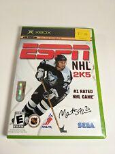 ESPN NHL 2K5 (Microsoft Xbox, 2004) Complete CIB