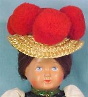 Vintage German Girl Celluloid Doll Turtle Schutz Mark in Original Box Germany