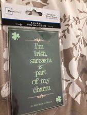 Irish Sarcasm Print In 4X6 Acrylic Magnetic Frame