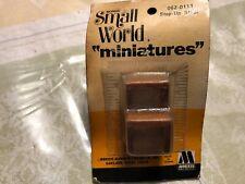 MORRIS SMALL WORLD MINIATURES #062-0111 STEP UP STOOL NEW/OB, NICE, L@@K!