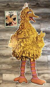 Vintage Sesame Street BIG BIRD Giant Floor Puzzle 19 Pieces - Complete - Rare!!!