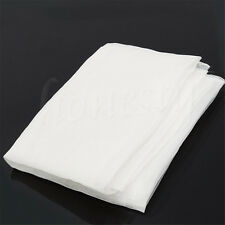 80T White Polyeste Silk Screen Print Printing Mesh Net Fabric Textile 100x127cm