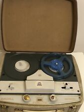 Vintage Argyll Fidelity Minor Reel to Reel Taper Recorder/ Player 1960s Portable