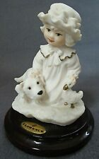 Giuseppe Armani Art Puppy Love Sculpture Florence The Society Members Gift 1998