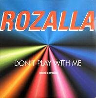 Rozalla CD Single Don't Play With Me - France (VG/VG+)