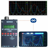 2019 Mini60 Sark100 HF ANT SWR Antenna Analyzer Meter + Bluetooth + Android APP