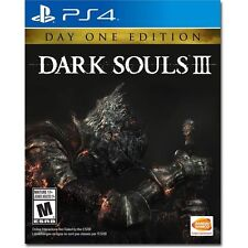 Dark Souls III: Day One Edition (Sony PlayStation 4, 2016) + Official Soundtrack