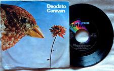 """EUMIR DEODATO / CARAVAN - 7"""" (Italy 1975) EX-/EX"""