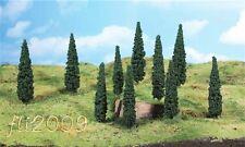 * Heki scala N 1190 8 alberi cipressi 10 cm con piedistallo