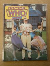 DOCTOR WHO #69 1982 OCT BRITISH WEEKLY MONTHLY MAGAZINE DR WHO DALEK CYBERMEN