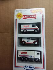 2004 Hot Wheels 1/64 Little Debbie Snacks Series Iv Special 3 Car Diecast Set