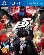 Persona 5 HK Chinese subtitle Version Japan Voice PS4 NEW