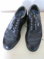 MENS GOFT SHOE FOOTJOY DRYJOYS OPTIFLEX2S SIZE 4.5 BLACK LEATHER BROGUE LACE UP