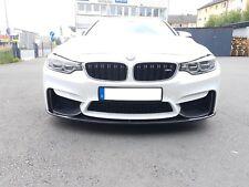Vera Nuovo di Zecca BMW M4 F82 F83 COPPIA GLOSS NERO M PERFORMANCE RENE GRIGLIA DA FORNO