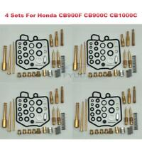 4Sets Carburetor Rebuild Carb Repair Kit for Honda CB900F CB900C CB1000C 1980-82