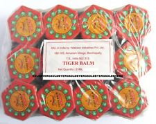BEST TIGER BALM RED muscle aches pain relief ointment massage 21g+ 6 PCS