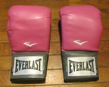 Everlast Women's Boxing Pro 14 oz Training Gloves Pink Breast Cancer Awareness