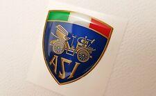 1 ADESIVO in gel resina rilievo 3d - ASI scudetto auto storica epoca youngtimer