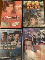 Lot of Great 1970s Movies DVD Blackwater Gold The Master Touch Seven Alone Maybe