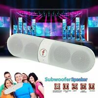 Super Bass Wireless Bluetooth Mini Speaker Portable In/Outdoor USB/TF/FM Radio