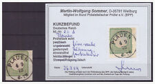 Dt. Reich 010106 BST Brustschild MNR 2b mit Kurzbefund Sommer