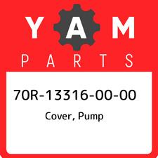 70R-13316-00-00 Yamaha Cover, pump 70R133160000, New Genuine OEM Part