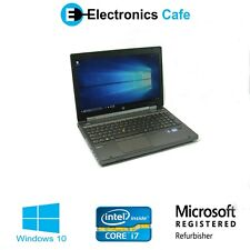 "HP EliteBook 8570w 15.6"" Laptop 2.60GHz Core i7 8GB DDR3 Windows 10 (B-Grade)"
