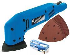 Silverline Elettrico Dettagli Palma Mouse Levigatrice A Mano Con 11 fogli abrasivi 180 W