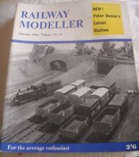 October Rail Railway Modeller Magazines in English