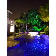 Blisslights Spright MOTION Blue Laser Light REMOTE Outdoors Stars Projector