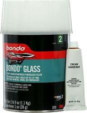Bondo Body Filler Glass Fiberglass Reinforced 3M 272 Dent And Rust Out Repairs